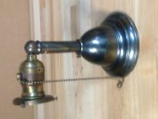 ANIQUE VINTAGE  BRASS ARTS AND CRAFTS MISSION LIGHT SCONCE LAMP PART