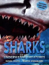 Life-Size Sharks and Other Underwater Creatures Life-Size Series-Nice gift !