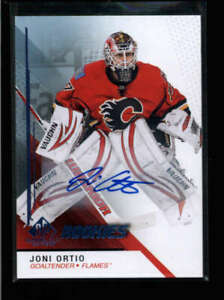 JONI ORTIO 2014/15 UPPER DECK SP GAME USED ROOKIE AUTOGRAPH AUTO #108 AH6508