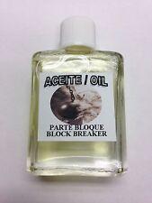 MYSTICAL / SPIRITUAL OIL (ACEITE) FOR SPELLS & ANOINTING 1/2 OZ BLOCK BREAKER