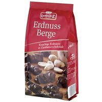 Lambertz Erdnuss Berge Zartbitterschokolade 250g