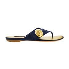 Louis Vuitton | Navy Leather Sandals