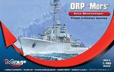 ORP 'MORS' POLISH BASE MINESWEEPER,  MIRAGE HOBBY 400430, 1:400