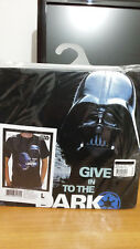 Star Wars t-shirt Darth Vader Dark Side L Rara-Rare!