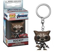 Funko pop key chain the avengers end game rocket marvel llavero figura figure