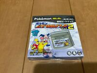 Pokemon Puzzle Collection vol.2 Game With Box and Manual Set VERY RARE mini