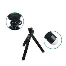 Mini Black Flexible Octopus Gorilla Tripod Stand Digital Camera Holder Portable