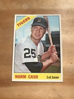 1966 TOPPS #315 NORM CASH DETROIT TIGERS— HIGH END💥*** (wph)