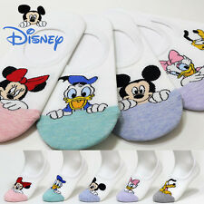 5 Pairs Women Socks Mickey Mouse Cartoon Disney Funny New Ladies Character Socks