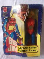 BIG JIM CAPTAIN LASER MATTEL DEAD STOCK NEW