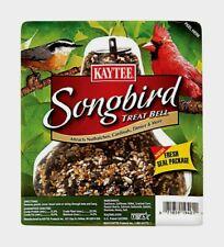 Kaytee Songbird Treat Bell Wild Bird Feed Sunflower Seeds Hanging Feeder 13 oz!