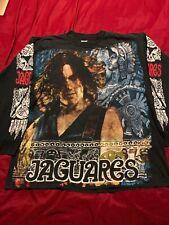 Vtg Jaguares Mexican Rock Band Long Sleeve All Over Print Mens XL Resurreccion