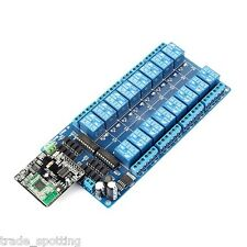 iMatic V2 16 Channel WIFI Network IO Controller For Arduino Relay Android iOS