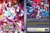 No Game No Life: Zero (The Movie) ~ All Region ~ Brand New & Factory Seal