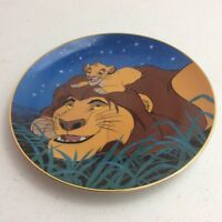 "1995 Disney The Lion King Bradford Exchange ""We'll Always Be Friends"" Plate"
