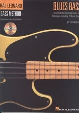 HAL LEONARD BASS METHOD Blues Bass Book/CD