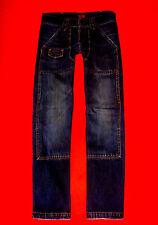 LEVI'S 852 RED TAB JEANS BAGGY DARK BLUE DENIM W29 L32 NEUW.!!! TOP !!!