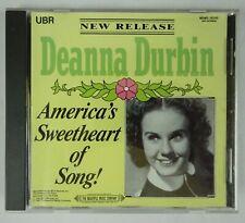 Deanna Durbin CD America's Sweetheart of Song!