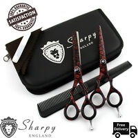 Professional Dog Cat Hair Cutting/Thinning Pet Scissors Shears Grooming Set 5.5""