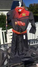 Lightning McQueen Costume sz 5/6 Child Pixar Disney Boy Girl NWT