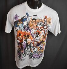 Marvel Mens Multiple Heroes Shirt New L
