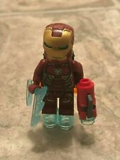 Mint 2019 Super Heroes Marvel Avengers Endgame Ironman Mk50 MiniFigure 76131 xxC