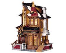 LEMAX Lucy's Chocolate Shop / Weihnachtsdorf Winterdorf Modellbau Porzellanhaus