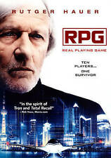 RPG Real Playing Game DVD Rutger Hauer Sci Fi Movie NEW and Sealed
