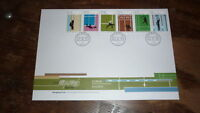 2015 HONG KONG STAMP ISSUE FDC, SPORTS SET OF 6 STAMPS