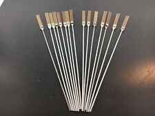 Antique Clock Pendulum Suspension Spring Rod Set of 15