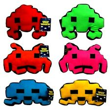 SPACE INVADERS CUSHIONS / SPACE INVADERS PLUSH - SET OF SIX - BRAND NEW WITH TAG