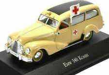 Estupendo Atlas 1/43 de Metal Emw 340 Kombi Ambulancia Color Crema DDR / Este