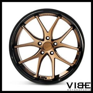 "20"" FERRADA FR2 BRONZE CONCAVE WHEELS RIMS FITS HONDA ACCORD"