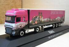 "Herpa - DAF XF Euro 6 Megatrailer ""Sped. Bursa / Harz"" PC-Modell 121682 - 1:87"