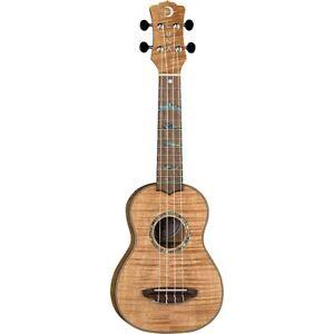 Luna Guitars High Tide Exotic Mahogany Soprano Ukulele High Tide