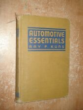 AUTOMOTIVE ESSENTIALS SHOP MANUAL DODGE CHEVY FORD SERVICE PONTIAC OLDS BUICK GM