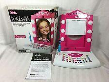Barbie Digital Makeover Mirror by Mattel Makeup Vanity Girls Dress iPad Toy