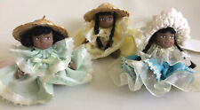 3 Cameo Kids Collection Porcelain Dolls ~ 2.5 Inch