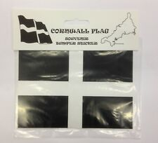 CORNWALL RECTANGLE BUMPER STICKER KERNOW CORNISH ST PIRAN'S DAY ESSENTIALS