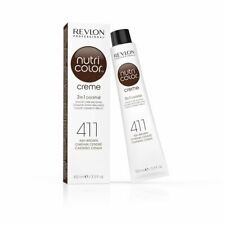Revlon Nutri Color Creme Tube - Ash Brown 411 100ml