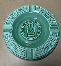More details for ind coope bitter ashtray vintage burleigh ware rare green hcw antique