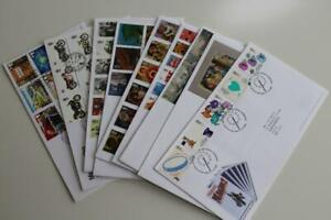 GB Fine Collection of 10 Different Commemorative Set FDCs from 2005