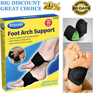 FOOT ARCH SUPPORT PLANTAR CUTION HEEL PAIN RELIEF FASCIITIS AID FALLEN ARCHES UK