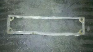 Lancia Aprilia cornice targa anteriore