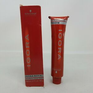 SCHWARZKOPF Igora Royal Hair Color Creme 5-89 2.1 oz Tube New in Box