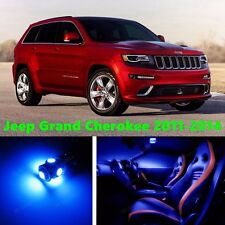 16pcs LED Blue Light Interior Package Kit for Jeep Grand Cherokee 2011-2014