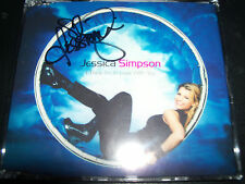Jessica Simpson I Think I'm In Love With You Signed Autographed (Aust) CD