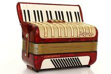 Accordion Hohner Concerto II 72 Bass Vintage MM Fisarmonica - TOP condition