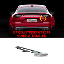 KIA OEM 86314J5000 Stinger GT Rear Emblem Nameplate for KIA Stinger 2017-2018+