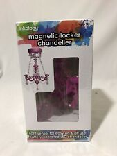 White 2-Pack Locker Lounge™ Magnetic Locker Chandelier